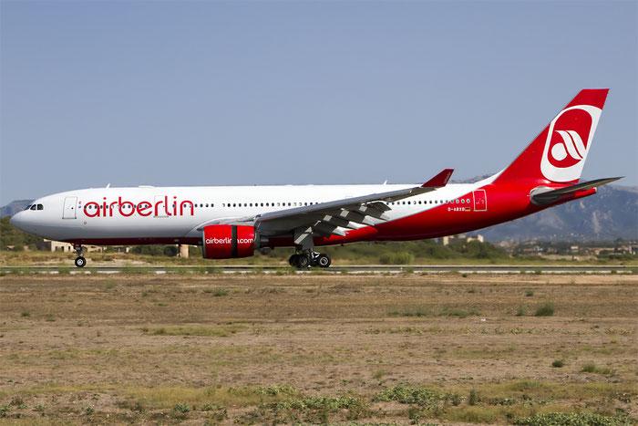 D-ABXB A330-223 322 Air Berlin @ Palma de Mallorca Airport 07.2014 © Piti Spotter Club Verona