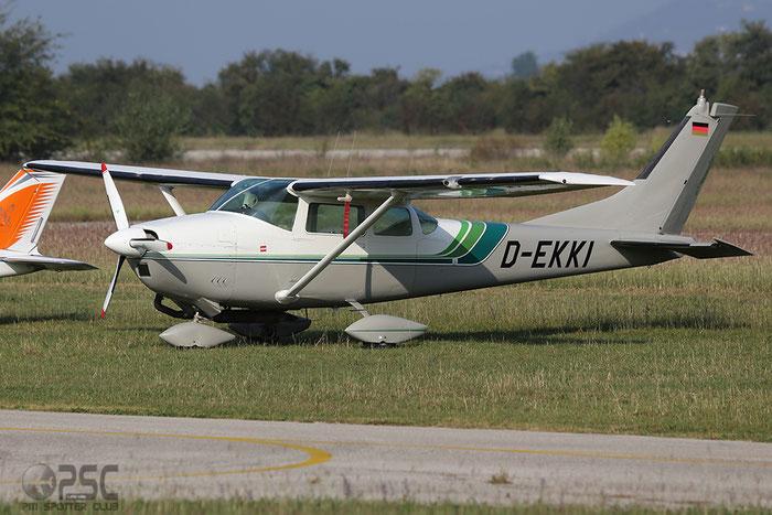 D-EKKI Cessna 182F Skylane C182 18254908 @ Aeroporto Verona Boscomantico © Piti Spotter Club Verona