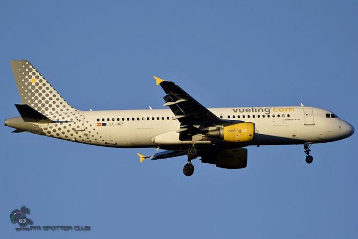 EC-HGZ A320-214 1208 Vueling Airlines @ Milano Malpensa Airport 14.01.2007 © Piti Spotter Club Verona