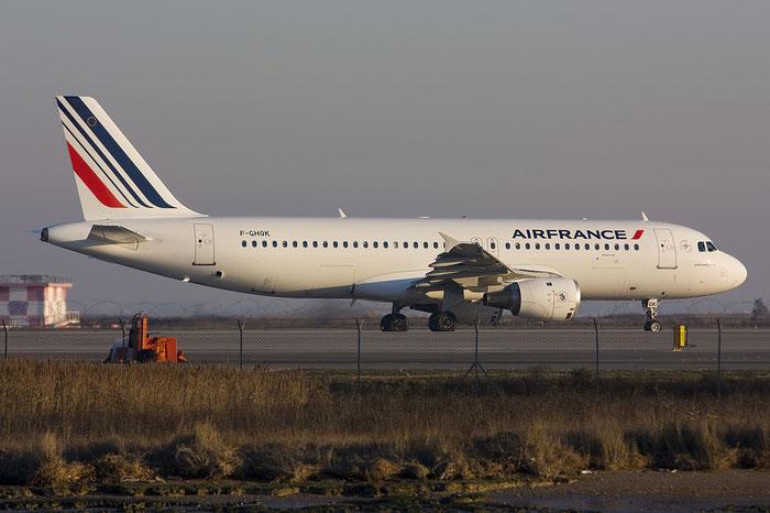 F-GHQK A320-211 236 Air France @ Venice Airport 08.01.2012 © Piti Spotter Club Verona
