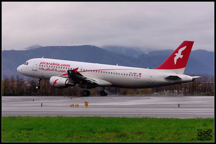 CN-NMG A320-214 4568 Air Arabia Maroc @ Bergamo Airport 07.12.2014 © Piti Spotter Club Verona