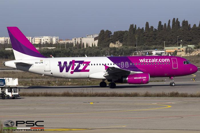 HA-LPR A320-232 3430 Wizz Air @ Bari Airport 04.03.2017 © Piti Spotter Club Verona