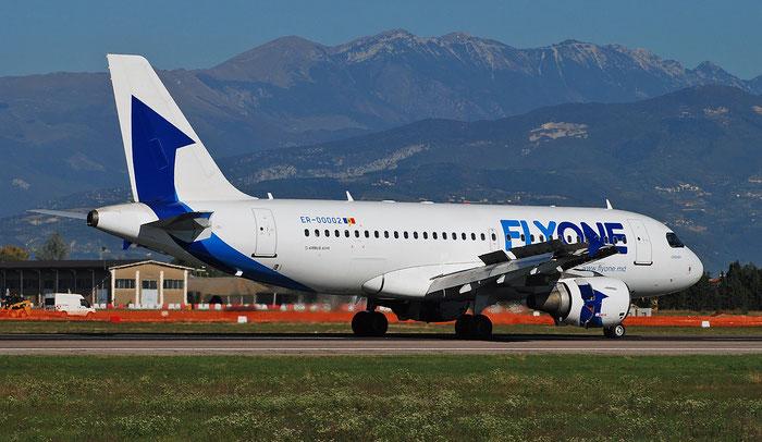 ER-00002 A319-112 1618 FlyOne @ Aeroporto di Verona 10.2018  © Piti Spotter Club Verona