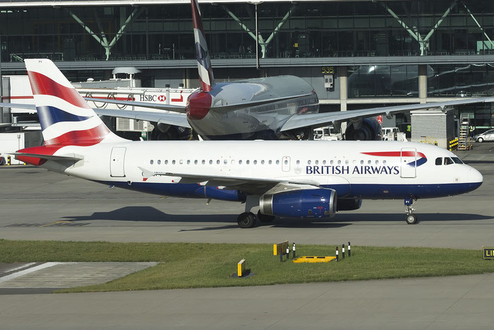 G-EUPY A319-131 1466 British Airways @ London Heathrow Airport 13.05.2015 © Piti Spotter Club Verona