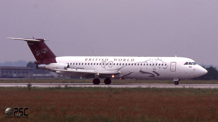 G-OBWB  BAe111-518FG  202  British World Airlines  @ Aeroporto di Verona © Piti Spotter Club Verona