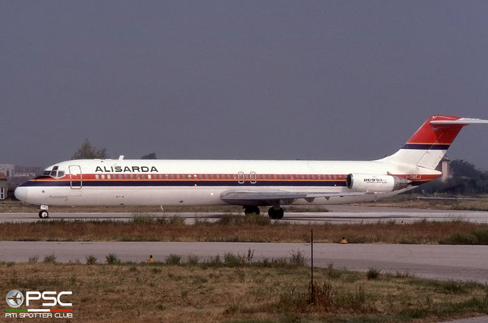 I-SMEJ  DC-9-51  47657/787  Alisarda - Linee Aeree della Sardegna   @ Aeroporto di Verona © Piti Spotter Club Verona