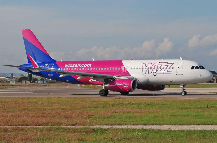 HA-LYE  A320-232  6131  Wizz Air  @ Aeroporto di Verona 11.2020  © Piti Spotter Club Verona
