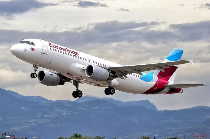 D-ABZE A320-216 3464 Eurowings @ Aeroporto di Verona 26.07.2017  © Piti Spotter Club Verona