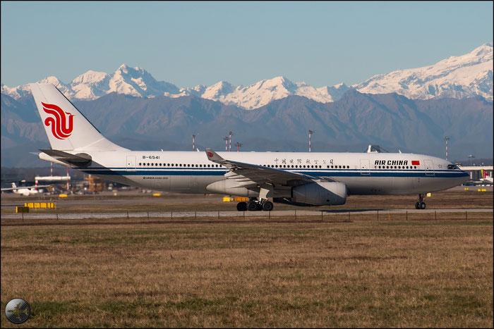 B-6541 A330-243 1304 Air China @ Milano Malpensa Airport 31.01.2015 © Piti Spotter Club Verona