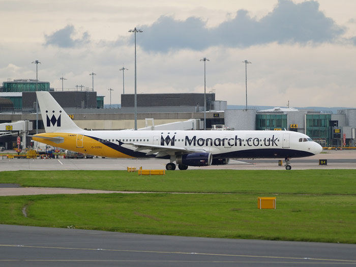 G-OZBU A321-231 3575 Monarch Airlines @ Manchester Airport 20.07.2012 © Piti Spotter Club Verona