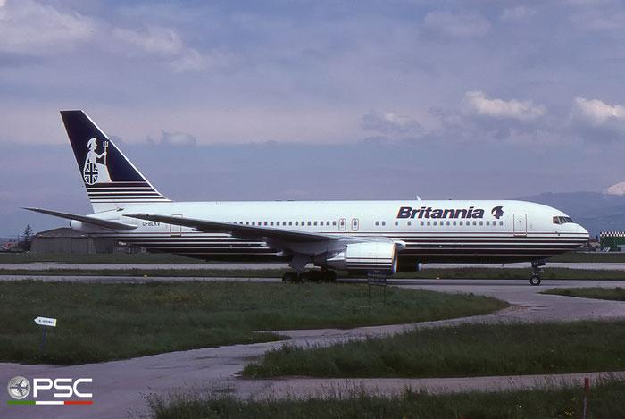 G-BLKV B767-204ER 23072/107 Britannia Airways © 2018 courtesy of Marco Ceschi - Piti Spotter Club Verona