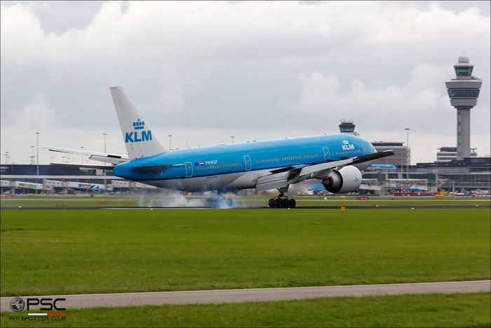 PH-BQP B777-206ER 32721/630 KLM Royal Dutch Airlines @ Amsterdam Airport - 09.2013  © Piti Spotter Club Verona