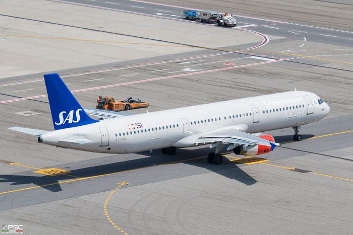 OY-KBL  A321-231  1619  SAS Scandinavian Airlines - Scandinavian Airlines System @ Milano Malpensa 2018 © Piti Spotter Club Verona