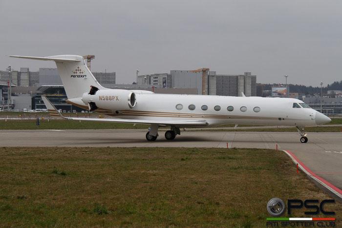 N588PX G550 5467 Wilmington Trust Co. @ Zurich Airport 14.03.2014 © Piti Spotter Club Verona