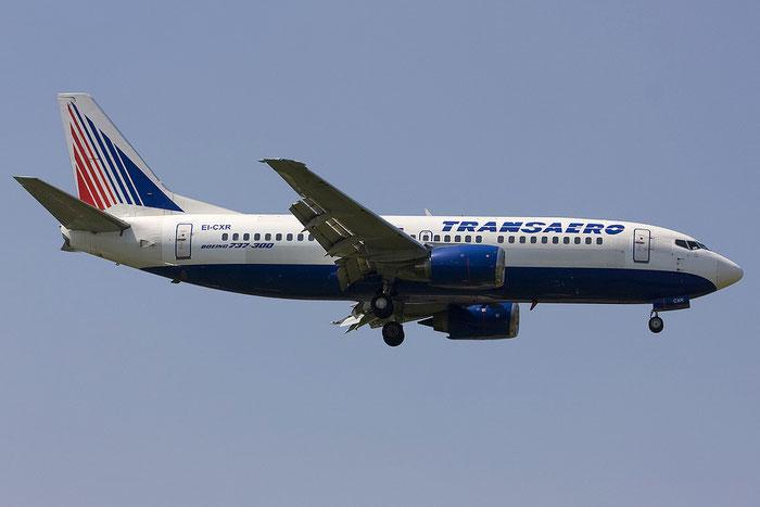 EI-CXR B737-329 24355/1709 Transaero Airlines @ Treviso Airport 16.06.2012 © Piti Spotter Club Verona