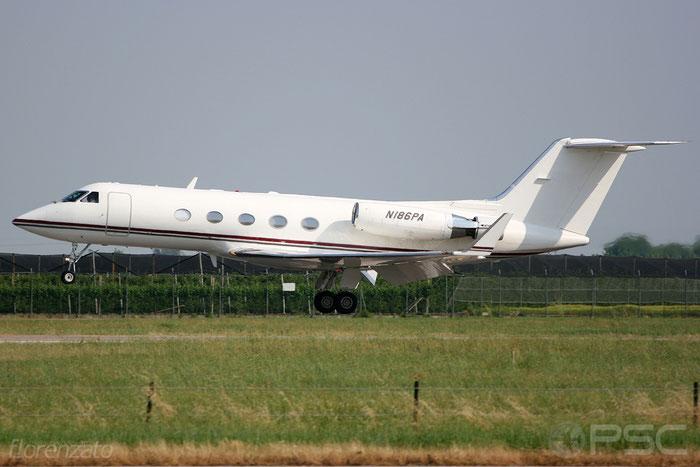 N186PA G-III 317 Phoenix Air Group Inc. @ Aeroporto di Verona 2009  © Piti Spotter Club Verona