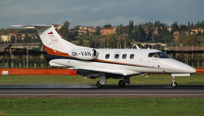 OK-VAN EMB500 50000134 Aerotaxi s.r.o. @ Aeroporto di Verona 10.2018  © Piti Spotter Club Verona