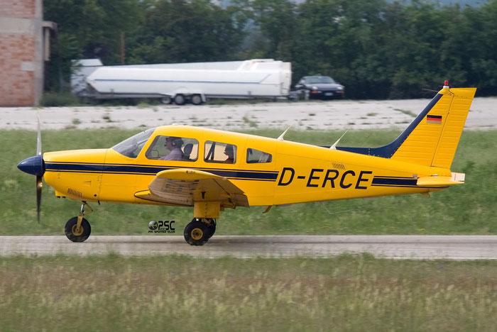 D-ERCE Piper PA-28-181 Archer 3 P28A @ Aeroporto Verona Boscomantico © Piti Spotter Club Verona