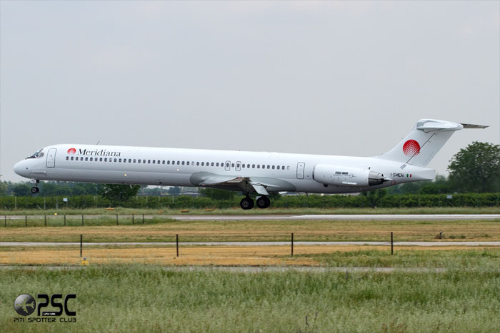 I-SMEN  MD-83  53013/1738  Meridiana Fly  @ Aeroporto di Verona © Piti Spotter Club Verona