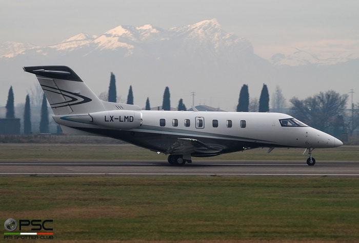LX-LMD  PC-24  146  JetFly Aviation SA @ Aeroporto di Verona 2020 © Piti Spotter Club Verona