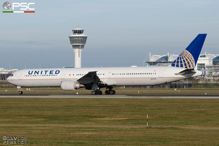 N67058 B767-424ER 29453/862 United Airlines @ Münich Airport 13.12.2015 © Piti Spotter Club Verona