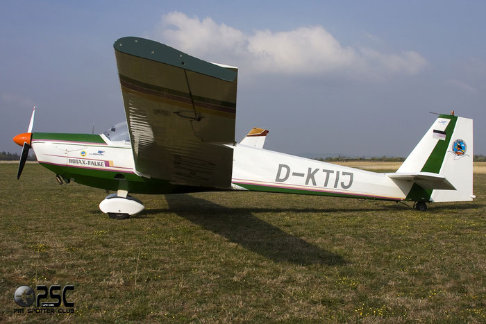 D-KTIJ Scheibe SF-25C Rotax Falke SF25 44594 @ Aeroporto Verona Boscomantico © Piti Spotter Club Verona