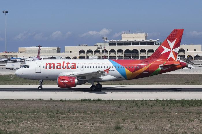 9H-AEL A319-112 2332 Air Malta @ Malta Airport 08.2015 © Piti Spotter Club Verona