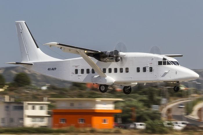 4X-AVP Sh360-300 SH3758 Ayit Aviation @ Rhodes Airport 06.07.2015 © Piti Spotter Club Verona