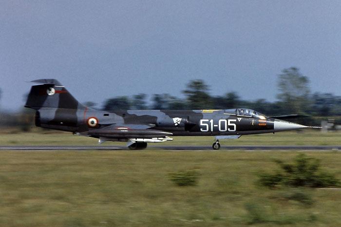 MM6707  51-05  F-104S  1007 © Piti Spotter Club Verona