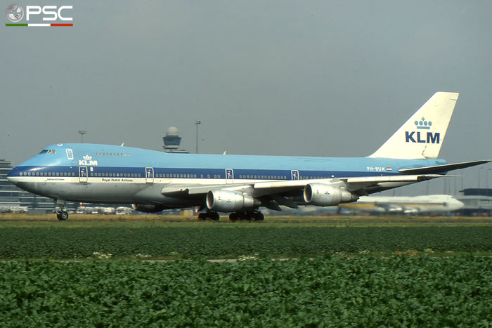 PH-BUN B747-206BSUD 21660/389 KLM Royal Dutch Airlines © 2017 courtesy of Marco Ceschi - Piti Spotter Club Verona