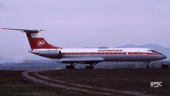 DDR-SDR 63967 Tu-134AK DDR-SDR EGAF/Interflug c/s © 2018 courtesy of Marco Ceschi - Piti Spotter Club Verona
