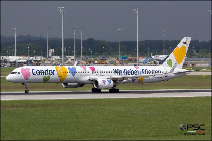 D-ABON B757-330 29023/929 Condor Flugdienst @ Munich Airport 2015 © Piti Spotter Club Verona