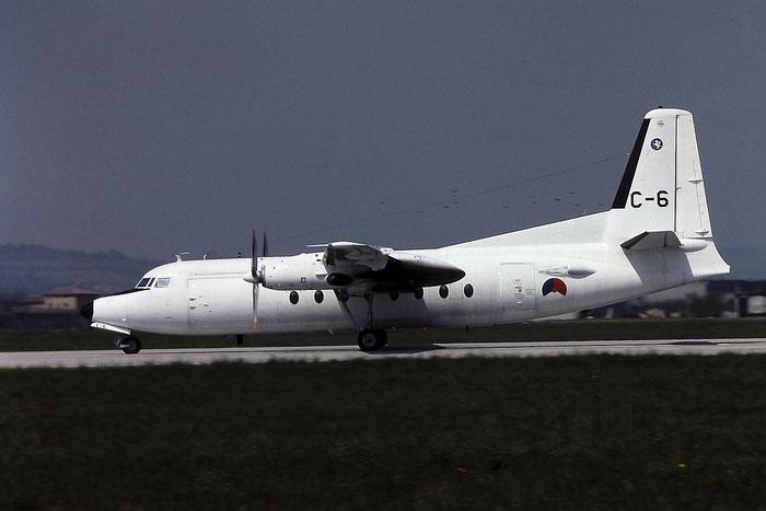 C-6   F27-300M  10156 @ Aeroporto di Verona   © Piti Spotter Club Verona