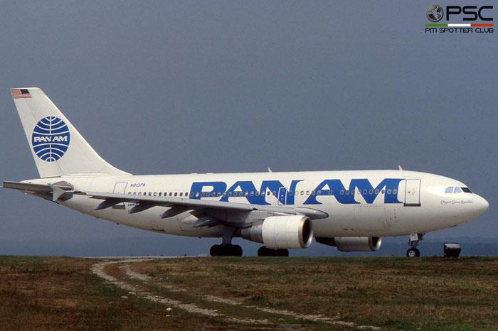 N813PA A310-324ET 449 Pan Am - Pan American World Airways © 2018 courtesy of Marco Ceschi - Piti Spotter Club Verona