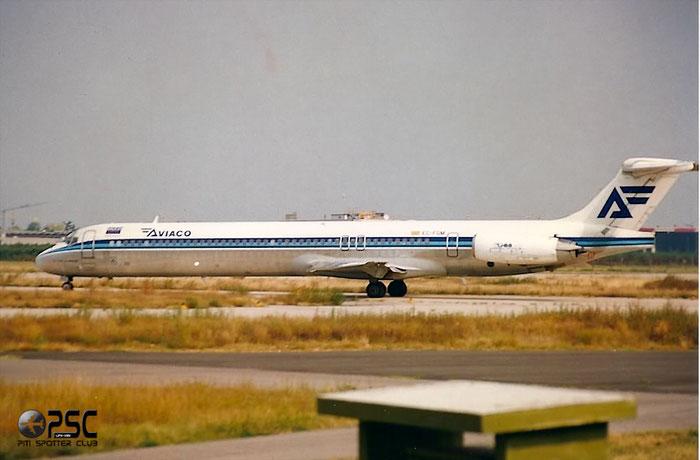 EC-FGM  MD-88  53193/1890  Aviaco - Aviación y Comercio  @ Aeroporto di Verona © Piti Spotter Club Verona