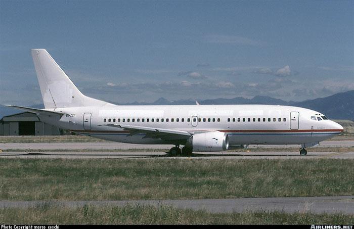 SU-ZCF B737-3Q8 26283/2383 Heliopolis Airlines @ Aeroporto di Verona © Piti Spotter Club Verona