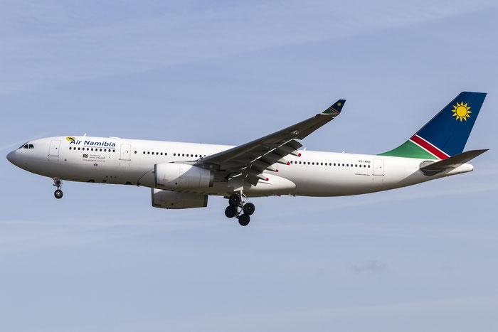 V5-ANO A330-243 1451 Air Namibia @ Frankfurt Airport 08.05.2015 © Piti Spotter Club Verona