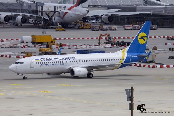 UR-PSM B737-8FZ 29674/3140 Ukraine International Airlines @ Munich Airport 15.05.2016 © Piti Spotter Club Verona