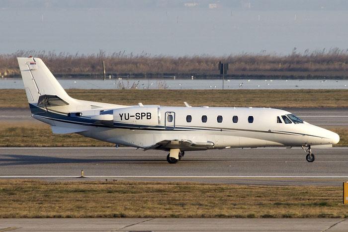 YU-SPB Ce560XLS 560-5807 Prince Aviation @ Venezia Airport 08.02.2015 © Piti Spotter Club Verona
