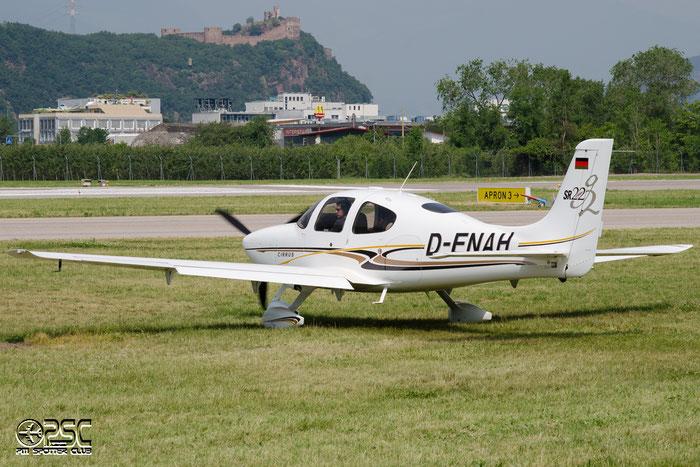 D-ENAH Cirrus Design Corp SR-22 G2 SR22 @ Aeroporto di Bolzano © Piti Spotter Club Verona