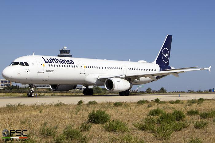 D-AIDD  A321-231  4585  Lufthansa  @ Athens 09.2019 © Piti Spotter Club Verona