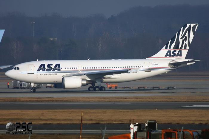 5Y-VIP A310-308 620 ASA - African Safari Airways @ Milano Malpensa Airport 12.2007 © Piti Spotter Club Verona