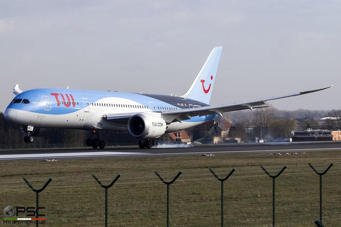 OO-JDL B787-8 34425/137 TUI fly Belgium @ Bruxelles Airport 14.03.2018 © Piti Spotter Club Verona