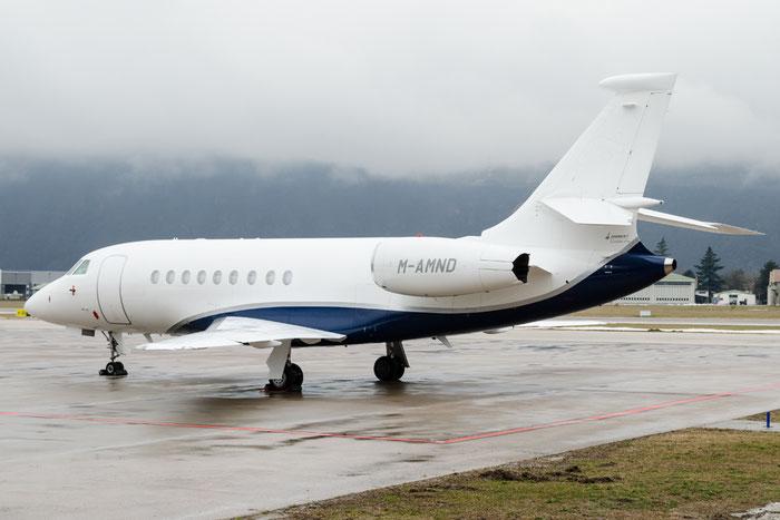 M-AMND Falcon 2000EX-EASy 114 Doha Capital Inc. @ Aeroporto di Bolzano © Piti Spotter Club Verona