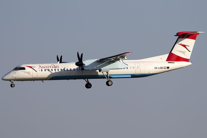 OE-LGB DHC-8-402 4015 Austrian Airlines @ Venice Airport 22.08.2015 © Piti Spotter Club Verona