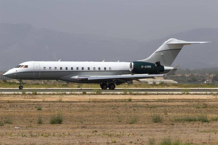 G-XXRS Global Express XRS 9169 TAG Aviation (UK) Ltd. @ Palma de Mallorca Airport 07.2014 © Piti Spotter Club Verona