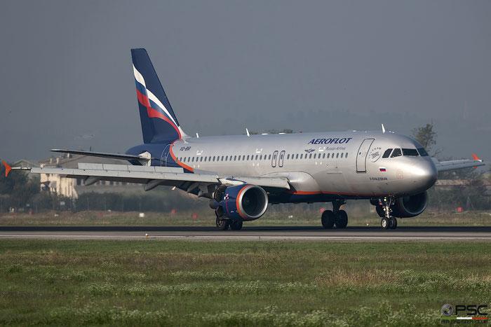 VQ-BIR A320-214 4625 Aeroflot @ Aeroporto di Verona 10.2018  © Piti Spotter Club Verona