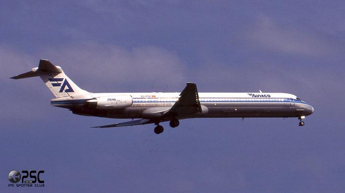 EC-FOZ  MD-88  53308/2022  Aviaco - Aviación y Comercio  @ Aeroporto di Verona © Piti Spotter Club Verona