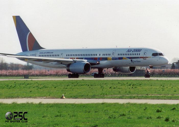 G-OOOA  B757-28A  23767/127  Air 2000   @ Aeroporto di Verona © Piti Spotter Club Verona