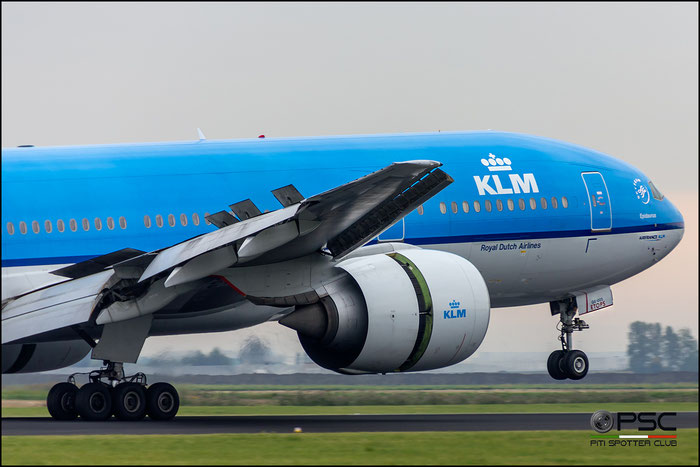 PH-BQE B777-206ER 28691/468 KLM Royal Dutch Airlines  @ Amsterdam Airport 09.2015  © Piti Spotter Club Verona